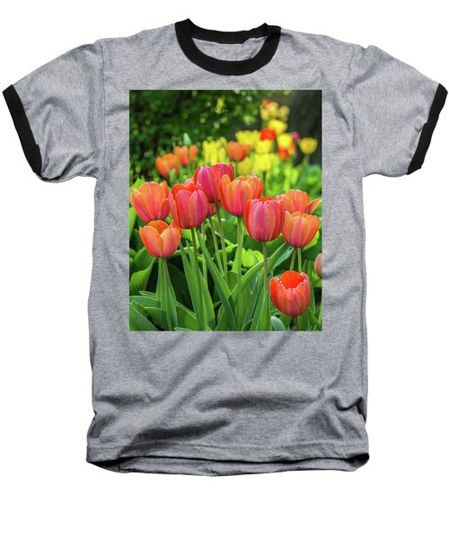 Baseball T-Shirt featuring the photograph Splash Of April Color by Bill Pevlor