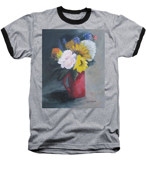 Splash Of Color Baseball T-Shirt