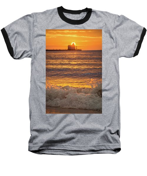Baseball T-Shirt featuring the photograph Splash Of Light by Bill Pevlor