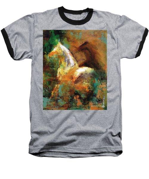 Splash Of White Baseball T-Shirt