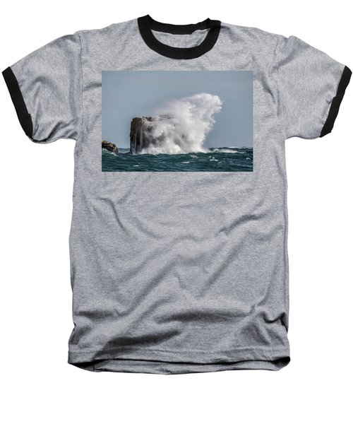 Baseball T-Shirt featuring the photograph Splash by Paul Freidlund