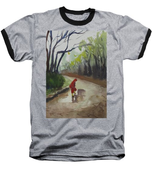 Splashing Baseball T-Shirt