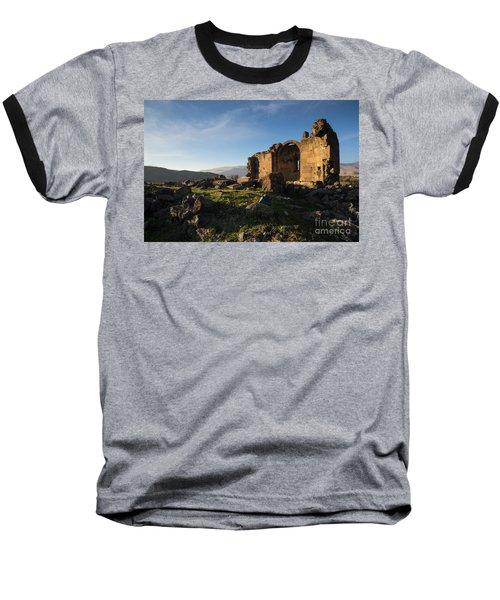 Splendid Ruins Of St. Grigor Church In Karashamb, Armenia Baseball T-Shirt
