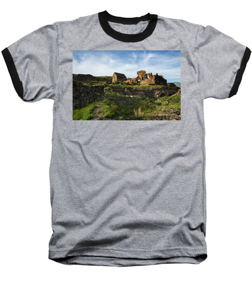 Splendid Ruins Of St. Sargis Monastery In Ushi, Armenia Baseball T-Shirt