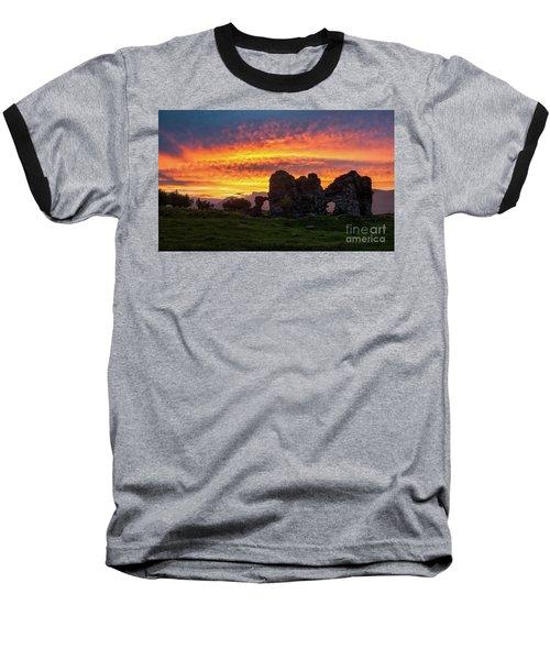 Splendid Ruins Of Tormak Church During Gorgeous Sunset, Armenia Baseball T-Shirt by Gurgen Bakhshetsyan