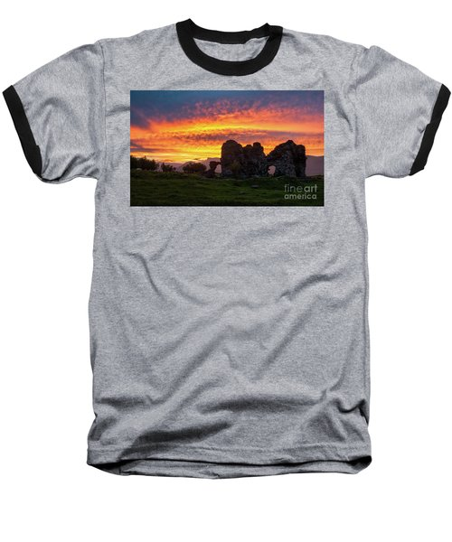 Splendid Ruins Of Tormak Church During Gorgeous Sunset, Armenia Baseball T-Shirt