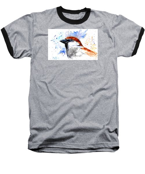 Splendid Sparrow Baseball T-Shirt