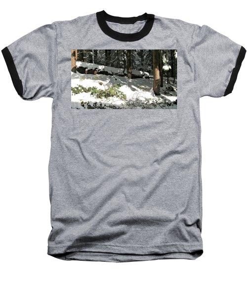 The Splendour Of Snow Baseball T-Shirt