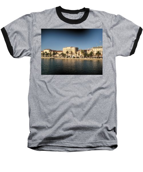 Split- Croatia Baseball T-Shirt