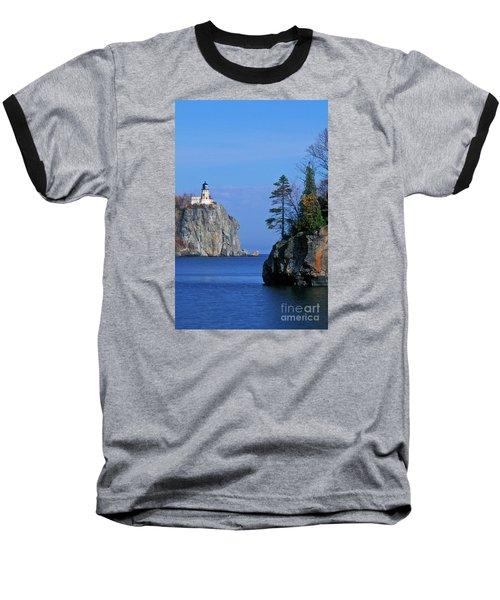 Split Rock Lighthouse - Fs000120 Baseball T-Shirt