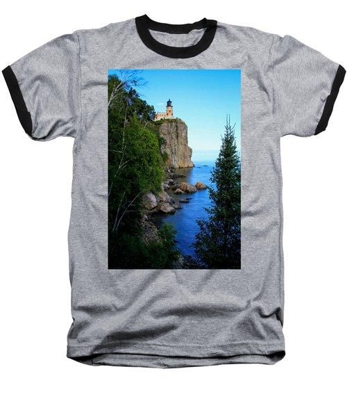 Split Rock Lighthouse Baseball T-Shirt