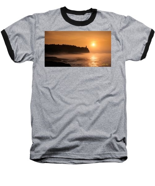 Split Rock's Morning Glow Baseball T-Shirt