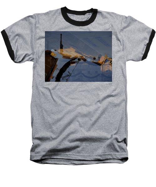 Split Roofs Baseball T-Shirt