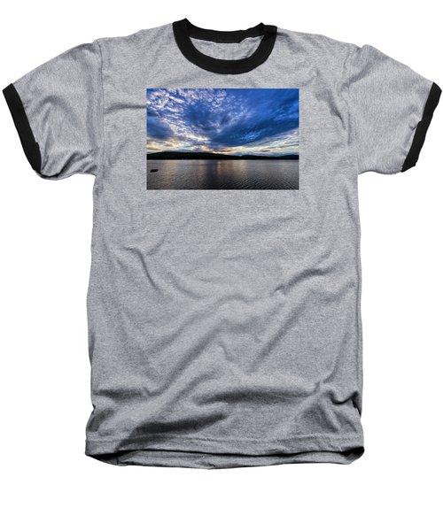 Baseball T-Shirt featuring the photograph Spofford Lake Sunrise by Tom Singleton