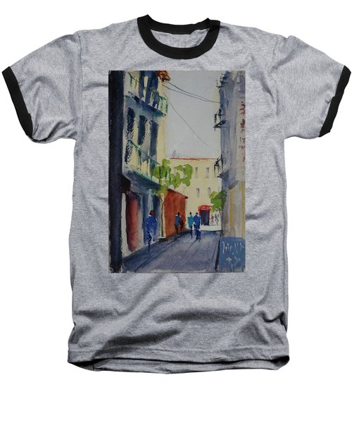 Spofford Street3 Baseball T-Shirt