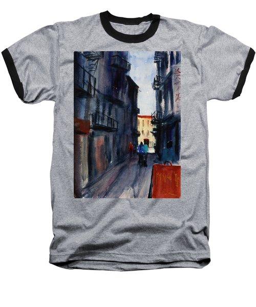 spofford Street5 Baseball T-Shirt