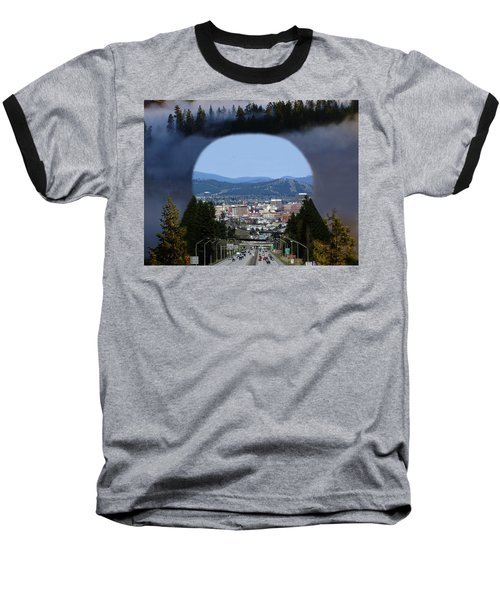 Spokane Near Perfect Nature Baseball T-Shirt