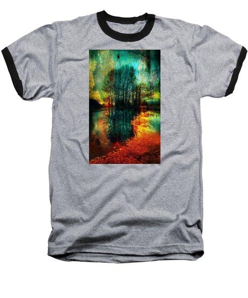 Spook Tree Baseball T-Shirt by Greg Sharpe