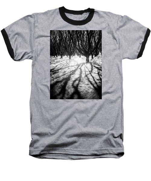 Spooky Forest Baseball T-Shirt