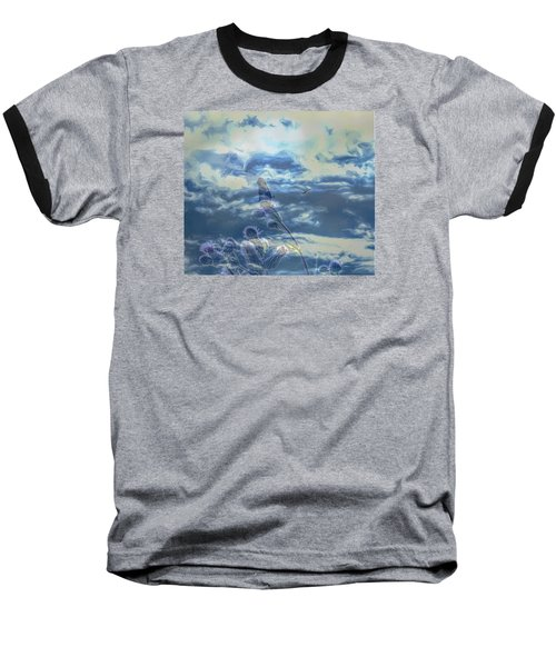 Baseball T-Shirt featuring the photograph Spooky by Leif Sohlman
