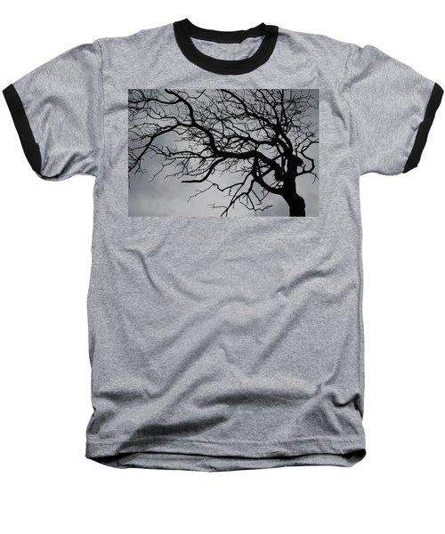 Spooky Tree Baseball T-Shirt