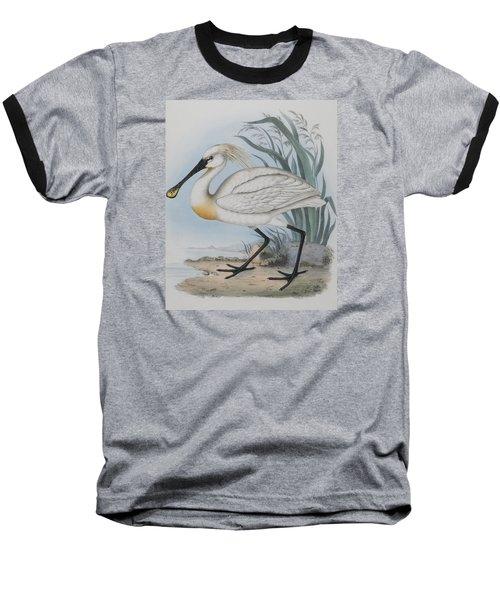 Spoonbill Baseball T-Shirt