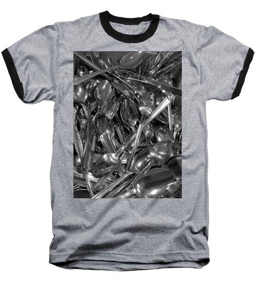 Spoons Baseball T-Shirt