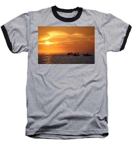 Sportfishermen Head Offshore Baseball T-Shirt