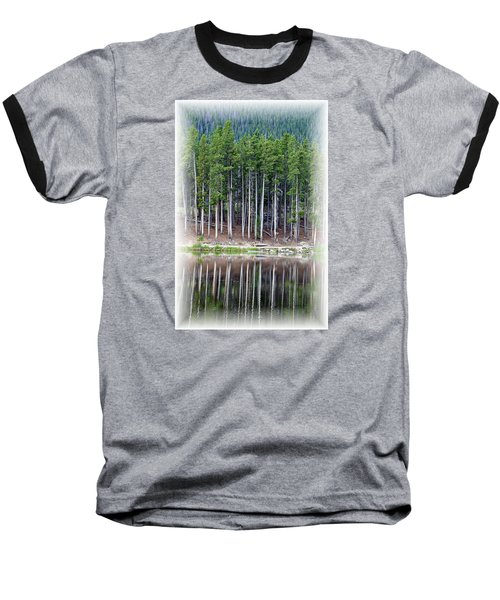 Sprague Lake 03 Baseball T-Shirt