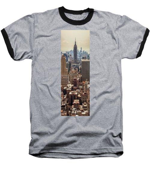 Sprawling Urban Jungle Baseball T-Shirt