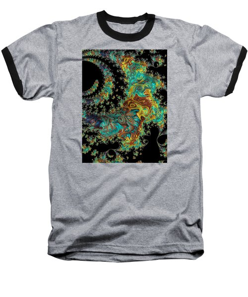 Sprial Galaxy I I Baseball T-Shirt