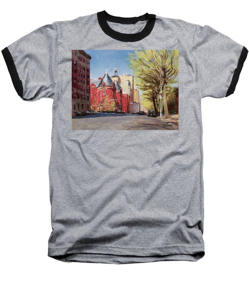 Spring Afternoon, Central Park West Baseball T-Shirt