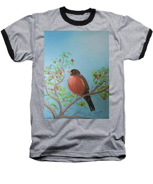 Spring Baseball T-Shirt by Al Johannessen