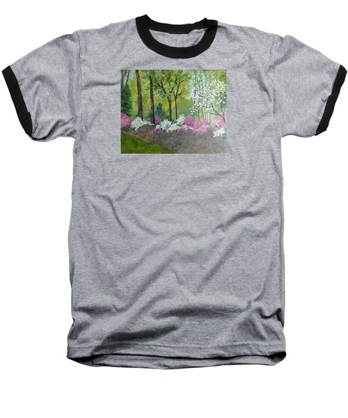 Spring Along Tega Cay Drive Baseball T-Shirt