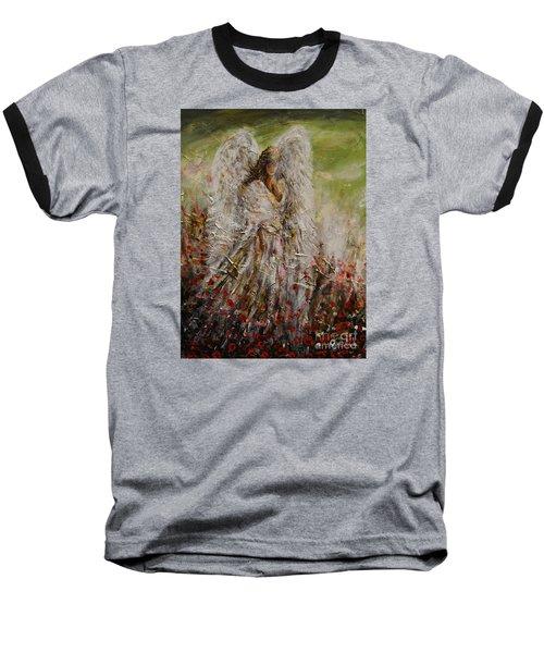 Spring Angel Baseball T-Shirt