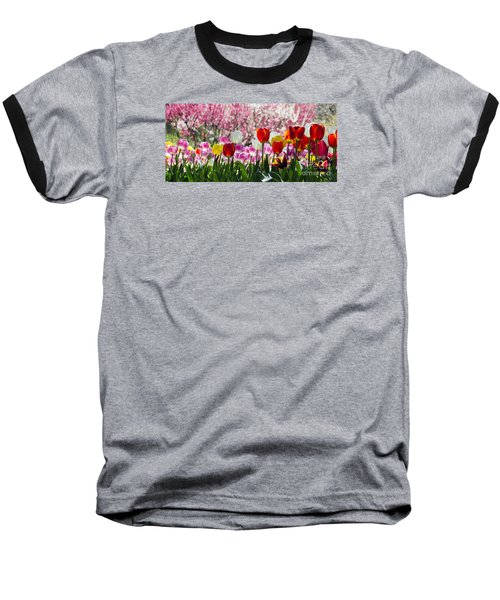 Spring Baseball T-Shirt by Angela DeFrias