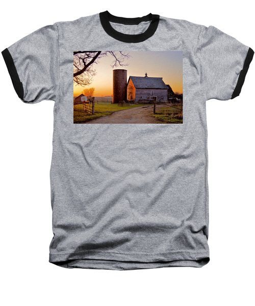 Spring At Birch Barn Baseball T-Shirt
