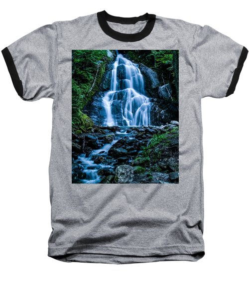 Spring At Moss Glen Falls Baseball T-Shirt