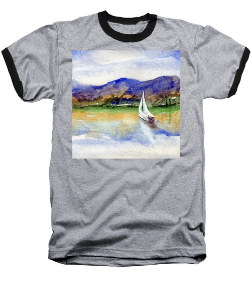 Spring At Our Island Baseball T-Shirt by Randy Sprout