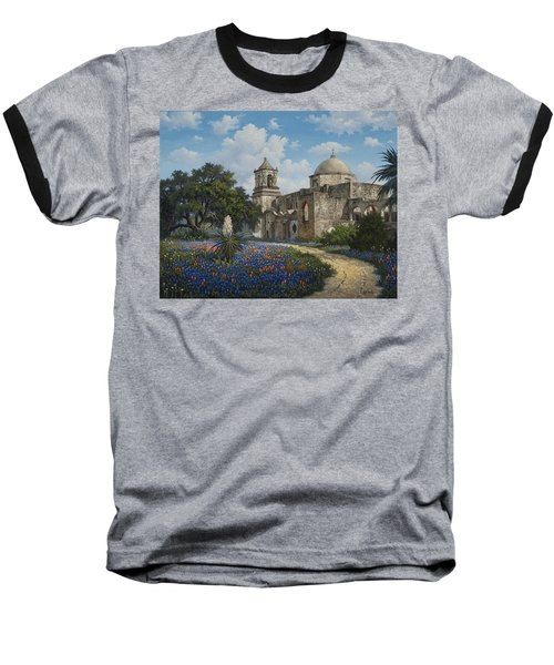 Spring At San Jose Baseball T-Shirt by Kyle Wood
