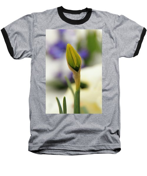 Baseball T-Shirt featuring the photograph Spring Blooms In The Snow by Chris Berry