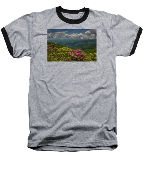 Spring Blooms On The Blue Ridge Parkway Baseball T-Shirt