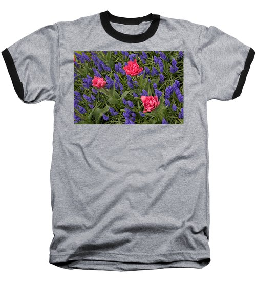 Spring Blooms Baseball T-Shirt