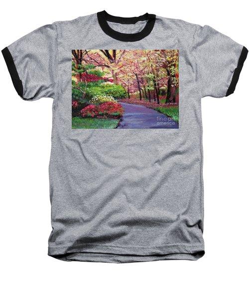 Spring Blossoms Impressions Baseball T-Shirt