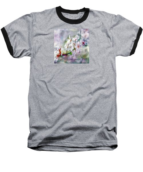Spring Blossoms Baseball T-Shirt