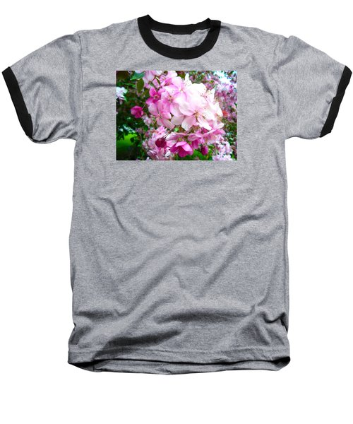 Spring Blossoms Baseball T-Shirt
