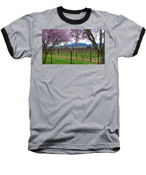 Spring Blossoms Near Calistoga Baseball T-Shirt