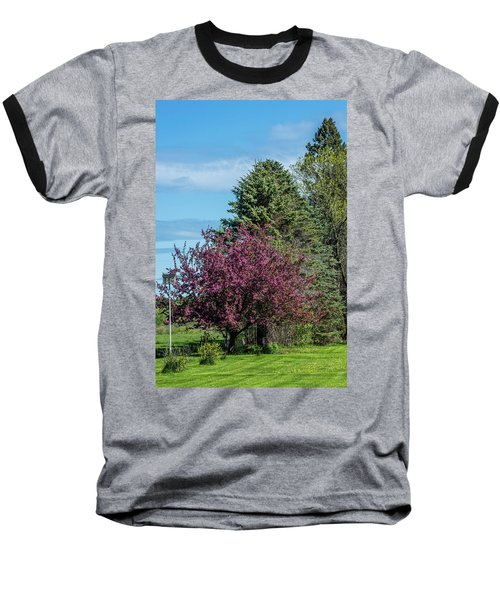 Baseball T-Shirt featuring the photograph Spring Blossoms by Paul Freidlund