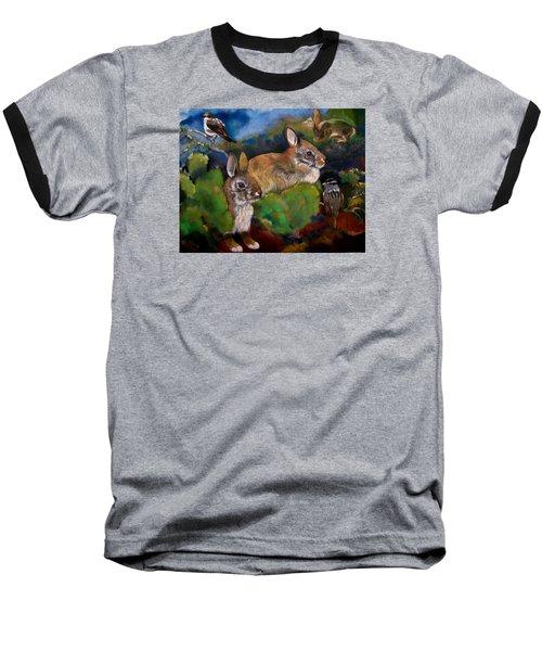 Spring Break Baseball T-Shirt by Marika Evanson