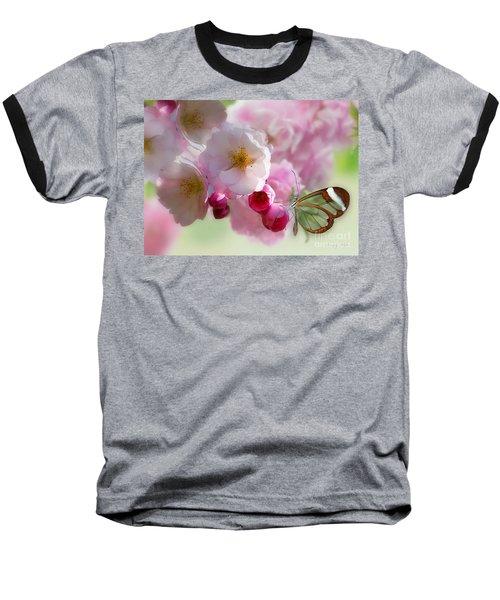 Spring Cherry Blossom Baseball T-Shirt